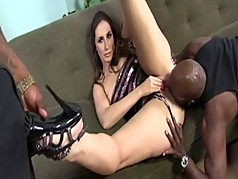 Paige Black 3some