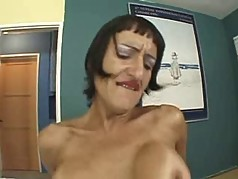 Susana De Garcia -Older Hairy Squirter
