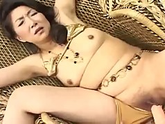 46yr old Slut Nanako Shimada loves Cum (Uncensored)