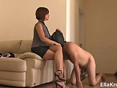 Slapping my Disappointing Slave