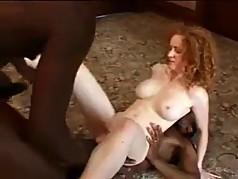 milf double teamed by bbc