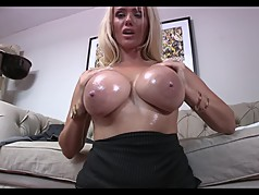 Big Fake Breasts - JOI