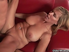 Cum hungry milfs will drain your cock