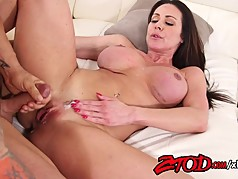 Kendra Lust gets her big ass out and up!