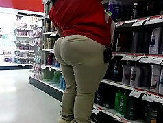 Bubble booty milf at target