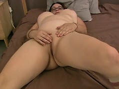 Chubby Girl Gets A Creampie