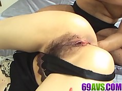 Milf with curvy lines,Chihiro Misaki, gets a big dick to pla