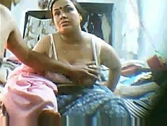 indian mature with huge boobs
