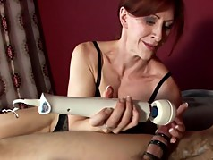 MiLF Masterly Teases This Cock