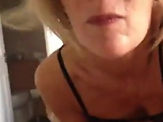 wife susie blowin'  her husbands friends cock