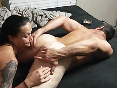 Female licks male ass (00757)