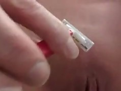My Bitch Shaves Pussy for Me