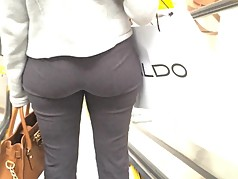 Bubble Butt in Grey Slacks Ebony (edited)