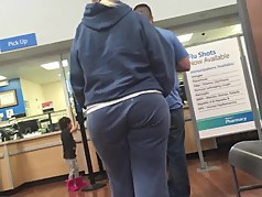 Nice Booty Pawg Gilf in Sweats