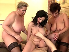 MOMS spoiling sons with amazing sex