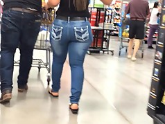 Sexy Walk Thick Booty (Caught Twice)