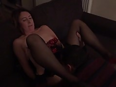 Homemade British Milf Slut Gets Her Pussy Eaten