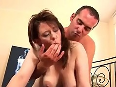 Hot milf and her younger lover 754