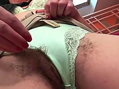 Two hot hairy milfs