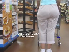 Wide Hips White Pants White Woman