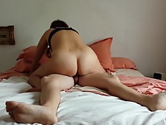 Milf having Creampied Sex with Young Boy