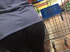 Nice cheeks on Spanish mom
