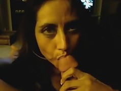my gorgeous gf sucking cock