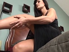 Busty Milf Has Perfect Throat And Coochie